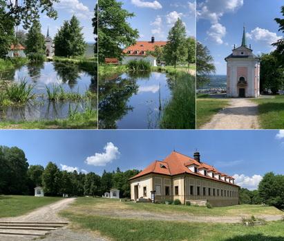 Barokní areál Skalka - klidové místo pro regeneraci