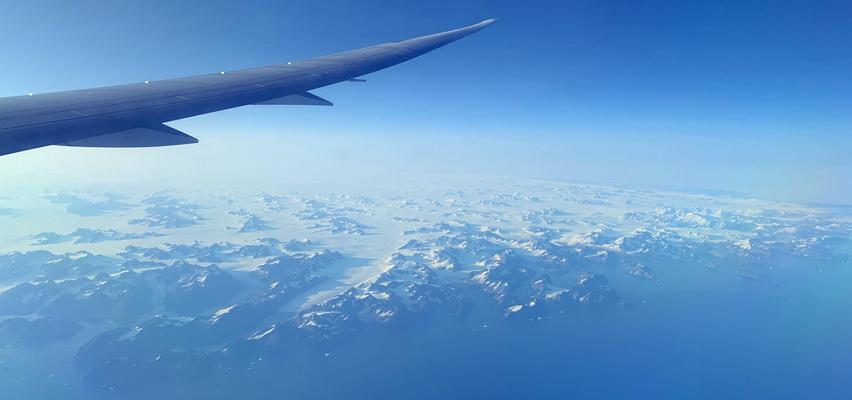 Pohledy na zamrzlé a zasněžené Grónsko braly dech