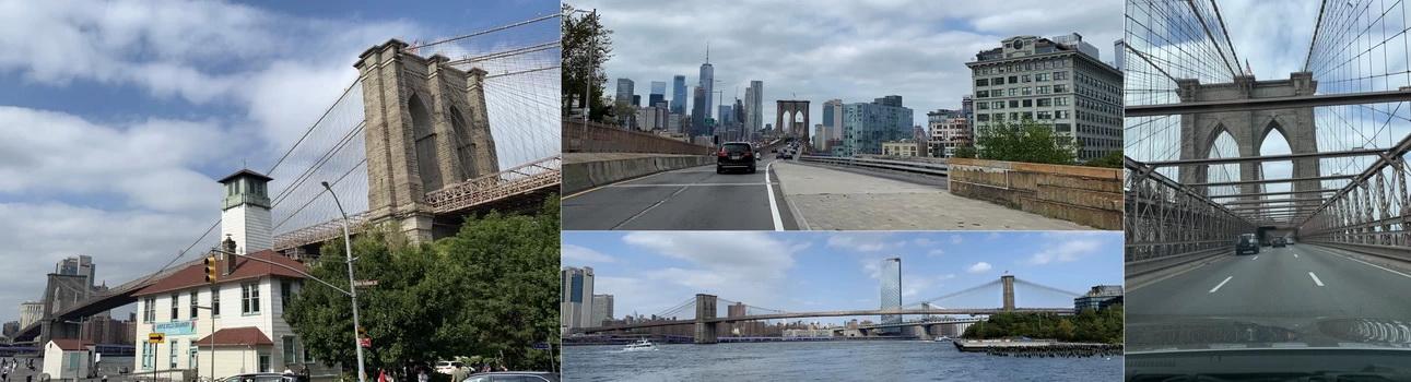Legendární Brooklyn Bridge započali stavět v roce 1869 a doteď je jednou z dominant New Yorku