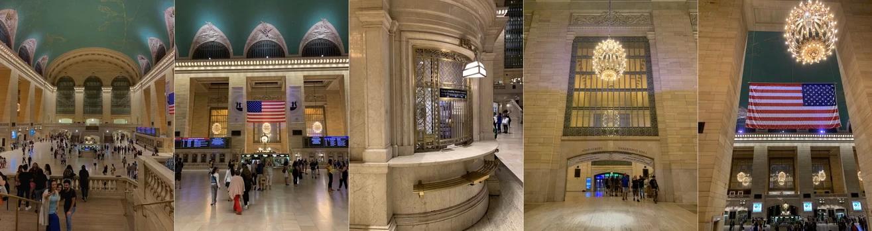 Grand Central Terminal alias Grand Central Station. Překrásná budova vestibulu, ale jakmile člověk přijde na starší nástupiště, vejde úplně do jiného světa.