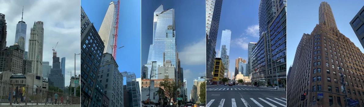 Tvary mrakodrapů jsou opravdu různé... Nové se staví neustále, ale opravdu čest jeřábníkům... do takové výšky bychom se půl dne.
