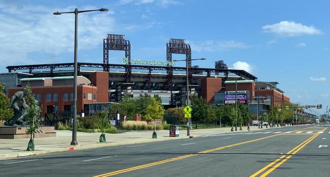 Svatostánek basebalistů Philadelphia Phillies, který v další kapitole navštívíme