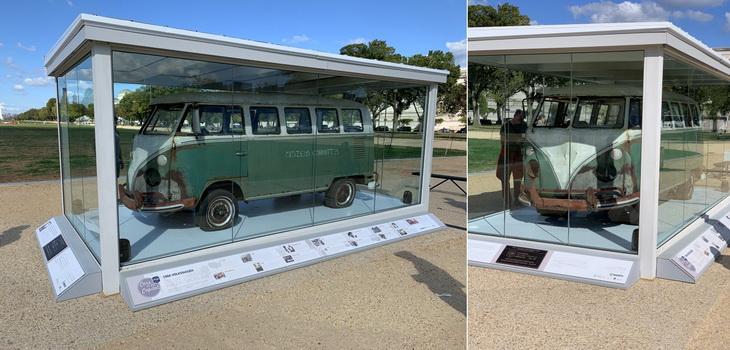 Volkswagen Deluxe Station Wagon, který nevypadá příliš k světu, ale i tak jde o 26. automobil registrovaný jako národní historické vozidlo