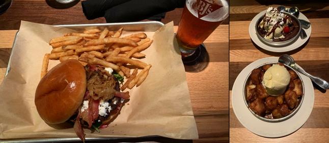 Gurmánský zážitek ve formě parádně ochuceného burgeru a lehce kontroverzního zákusku