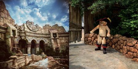 V tomto chrámu nás přivítal zuřiví Poseidón, venku pak Kocour v botách